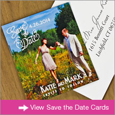 Save the Date Cards Banner