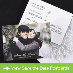 Save the Date Postcards Banner
