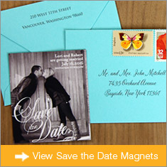 Save the Date Magnets Banner