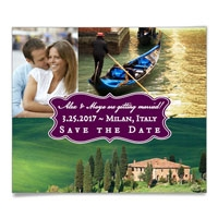 Baila Save the Date Magnets