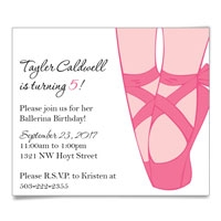 Ballerina Save the Date Magnets