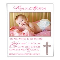 Blessed Baptism Save the Date Magnets