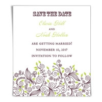 Beautiful Day Save the Date Magnets
