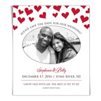 The Best is Yet to Be save the date magnets