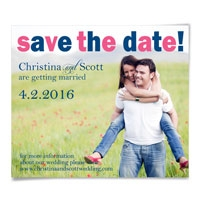 Big Sky Save the Date Magnets