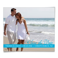 Blissful Love Save the Date Magnets