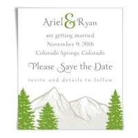 Boulder Save the Date Magnets