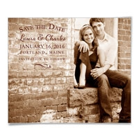 Breaking News Save the Date Magnets