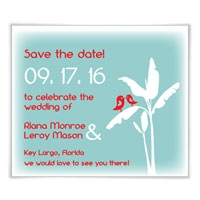 Breezy Love Save the Date Magnets