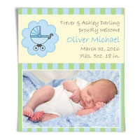 Bundle of Joy Save the Date Magnets