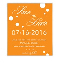 Burst Save the Date Magnets