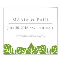 Cancun Save the Date Magnet
