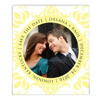 Captivated Photo Save the Date Magnet