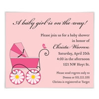 Baby Carriage Save the Date Magnets