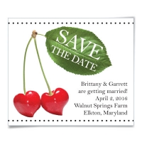 Cherries Save the Date Magnets