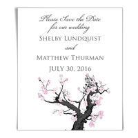 Cherry Tree Save the Date Magnets