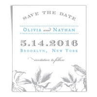 Chirp Save the Date Magnets