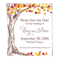 Celebration of Love Save the Date Magnet