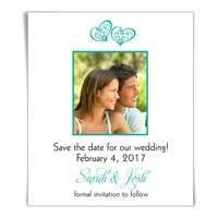 Amour Photo Save the Date Magnet