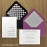 Enclosure cards can be formatted to match the style of your magnets. Available in white or ivory paper these cards allow you to provide additional information to your guests.  Coordinating envelopes and liners available too.