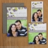 All three Blissful photo magnets shown with Ash colored envelopes.